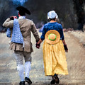Colonial Couple by Jerry Gammon