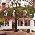 Colonial House by Lou Ford