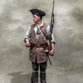 Colonial Militia Soldier 1777 by Randy Steele