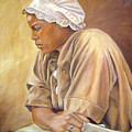 Colonial Serving Girl by Anne Kushnick