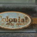 Colonial Sign Detail by Jon Benson