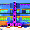 Colony Hotel Palm by Jost Houk
