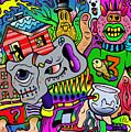 Color Bash Acid Tweeter by Lon Bennett