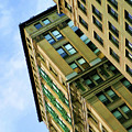 Color Buildings Architecture New York  by Chuck Kuhn