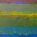 Color Collage Five by Michelle Calkins
