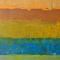Color Collage Three by Michelle Calkins