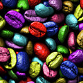 Color Full Coffe Beans by Pawel Zaremba