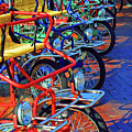 Color Of Bikes by Jost Houk