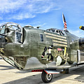 Color Side Wwii B-24j by Chuck Kuhn