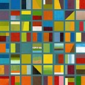 Color Study Collage 67 by Michelle Calkins