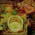 Color Study February by Jana Barros