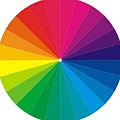 Color Wheel by TJ Art