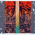 Color25 Monoprint by Christiana Iliopoulou