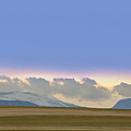 Colorado Agriculture Plains Sunset Diptych Pt 2 by James BO Insogna