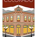 Colorado Aspen Block Building by Sam Brennan