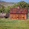 Colorado Barn 5817 by Maria  Struss