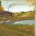 Colorado Cabin by Don Lindemann