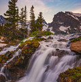 Colorado Cascading Waters by Darren White