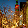 Colorado Christmas In Denver by Teri Virbickis