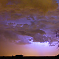 Colorado Cloud To Cloud Lightning Thunderstorm 27g by James BO Insogna