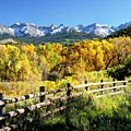 Colorado Country Road Vista by Harriet Feagin