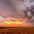 Colorado Eastern Plains Sunset Sky by James BO Insogna