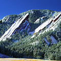 All Five Colorado Flatirons by Marilyn Hunt