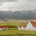 Colorado Horse Farm by Peter J Sucy