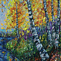 Glimpses Of Colorado Fall Colors by OLena Art Brand