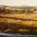 Colorado Meadow Morning by Ellen  Leigh