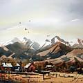 Colorado Mountain Ranch by Ugljesa Janjic