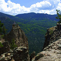 Colorado Mountain View by Allison Jones
