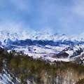 Colorado Mountains 3 Landscape Art By Jai Johnson by Jai Johnson