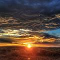 Colorado Plains Sunset by Kris McGehee