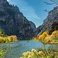 Colorado River And Glenwood Canyon by Jemmy Archer