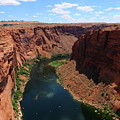Colorado River At Glen Canyon Dam by Christiane Schulze Art And Photography
