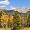 Colorado Rockies National Park Fall Foliage Panorama by Toby McGuire