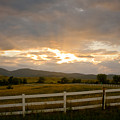 Colorado Rocky Mountain Country Sunset by James BO  Insogna
