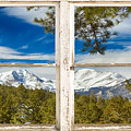 Colorado Rocky Mountain Rustic Window View by James BO Insogna