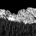 Colorado Rocky Mountains Indian Peaks Fine Art Bw Print by James BO Insogna