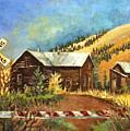 Colorado Shed by Linda Shackelford