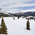 Colorado Snow Scene by Leda Robertson
