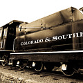Colorado Southern Railroad 1 by Marilyn Hunt