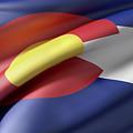 Colorado State Flag by Enrique Ramos Lopez