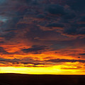 Colorado Sunrise February by Ernie Echols