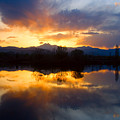 Colorado Sunset Reflections by James BO Insogna