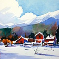 Colorado Winter 8 by Ugljesa Janjic