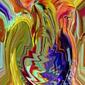 Colorburst Vase by Beverly Kimble Davis