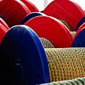 Colored Boat Ropes by Louis Dallara
