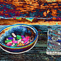 Colored Chalk by Karen Wagner